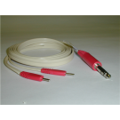 Coaxial IFC Cable, Red, 72""